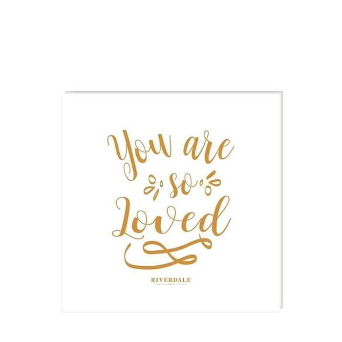 Servietten *you are so loved*