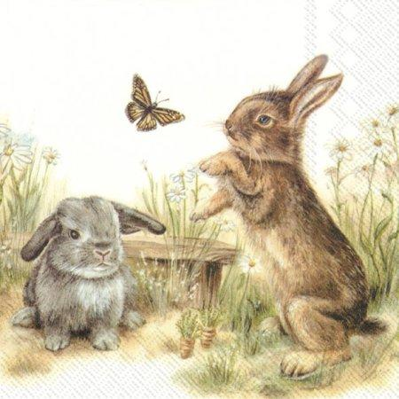 Serviette *Bunny and Clyde*